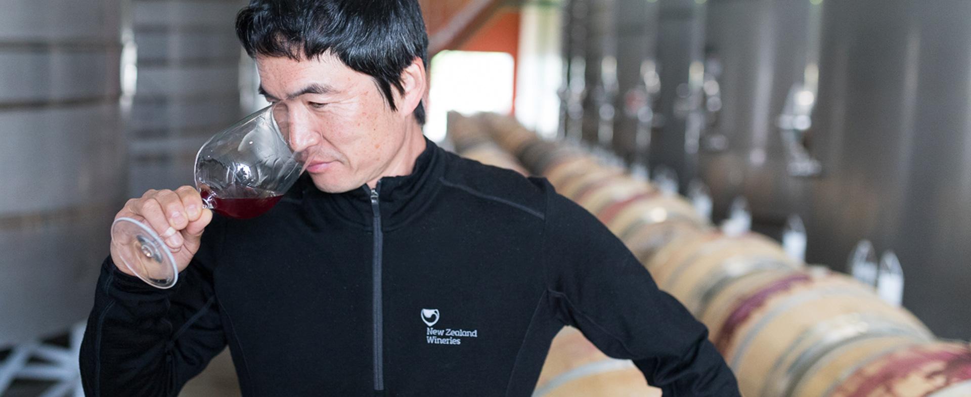 NZ Wineries Hiro Kishida